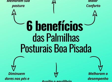 6 Benefícios das Palmilhas Posturais Boa Pisada
