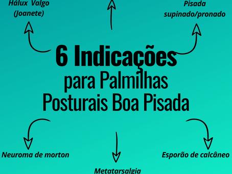 6 indicações para o uso de Palmilhas Posturais Boa Pisada