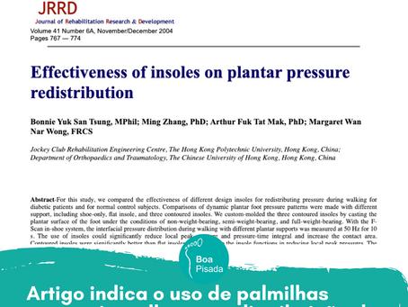 Artigo indica que uso de palmilhas posturais melhora a distribuição de carga na marcha