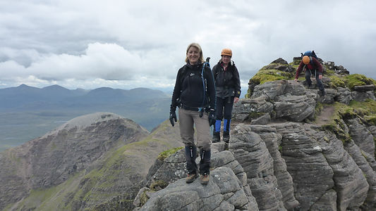Pinnacles on An Teallach.JPG
