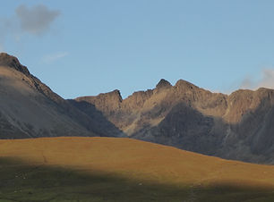 Sunset views to the Central Cuillin.02.J
