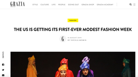 THE US IS GETTING ITS FIRST-EVER MODEST FASHION WEEK   16 AUGUST 2019 BY SHEHLA MOMIN
