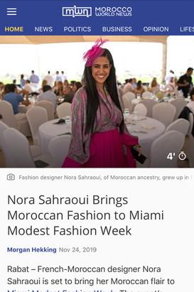 MOROCCO NEWS - y Morgan Hekking - Nov 24, 2019