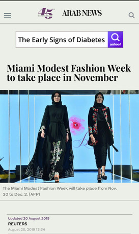 Arab News -  20 August 2019