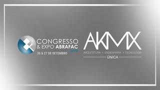 AKMX NO CONGRESSO & EXPO ABRAFAC 2018