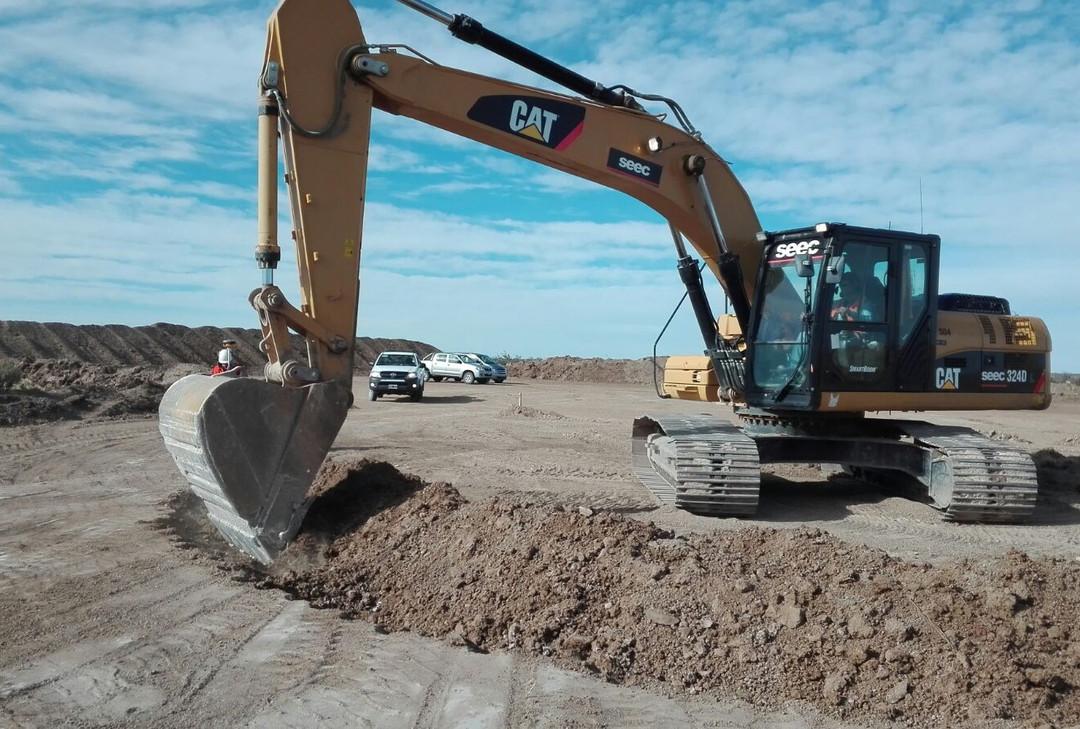 WTG 22 Fundation Excavation Starting