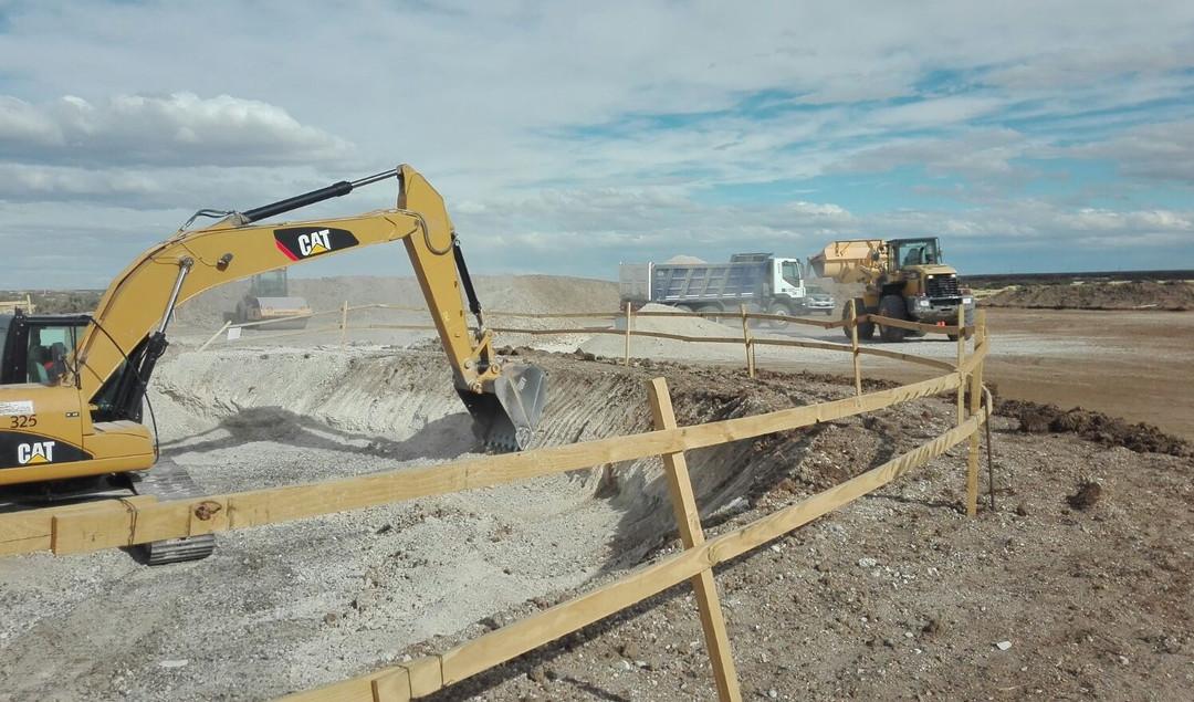 WTG 7 Fundation Excavation