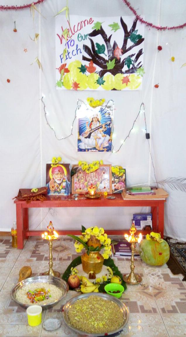 VidyarambamPoojaDecrations2
