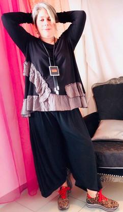 tunique-volants-g'oze-pantalon-noir-pois