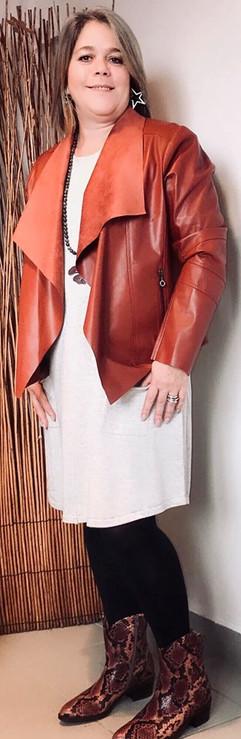 robe-gris_clair-marble-blouson-simili-cu