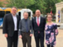 Mayor Savage, Randy, Andy Fillmore & Asi
