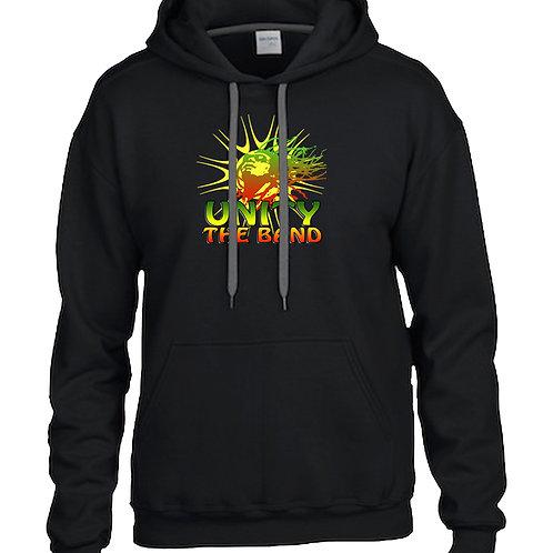 Unity Sunburst Black Hoodie