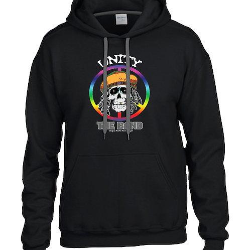 Unity Skull Black Hoodie