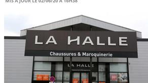 Les syndicats de La Halle, en grande difficulté, en appellent au gouvernement
