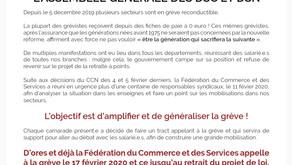 Assemblée générale des DS et DSC  CGT