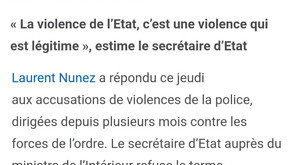 """""""Macron nous fait la guerre et sa police aussi..."""" RÉAGISSONS !"""