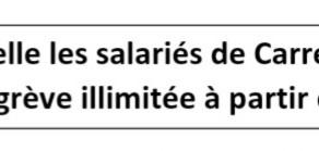 Appel à la grève chez Carrefour