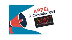 Appel à candidature CGT la Halle Pégase