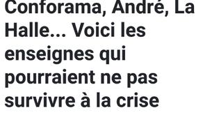 Conforama, André, la Halle ...