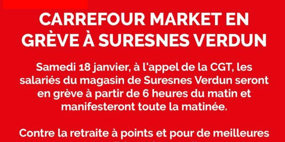 Soutien Carrefour