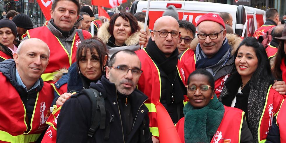 Election professionnelle 2019 CGT LA HALLE