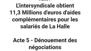 PSE: Dénouement des négociations