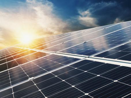 La energía que nace del sol.