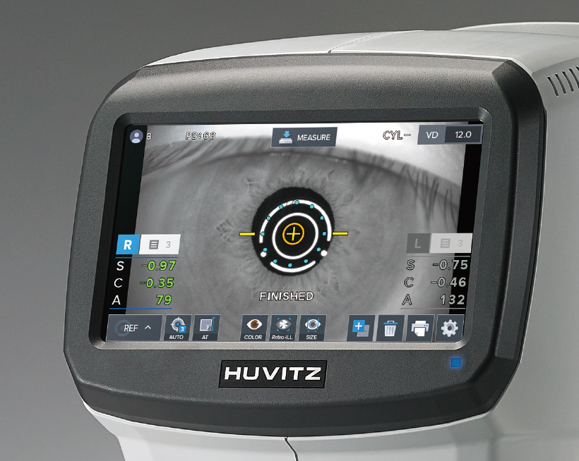 Huvitz HRK-1 Profesional logistik