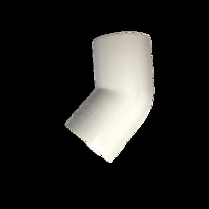 CODO 45 PVC 1