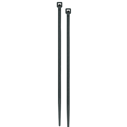CINCHO PLASTIC 50LB 400MM NEGRO C/25 VOLTECK, MOD:CIN-5040N