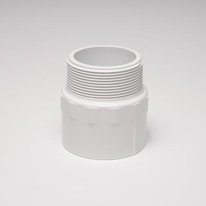 CONECTOR MACHO PVC 1-1/2