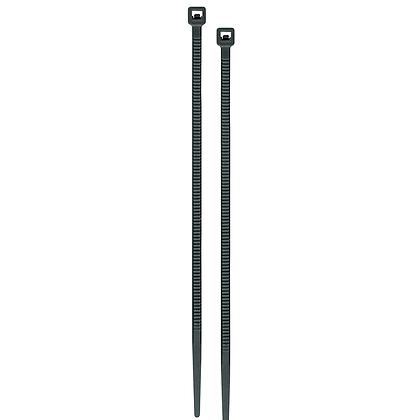 CINCHO PLASTICO 50LB 500 MM NGRO C/25 VOLTECK, MOD:CIN-5050N