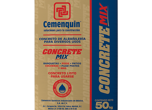 CONCRETE MIX CEMENQUIN 50KG