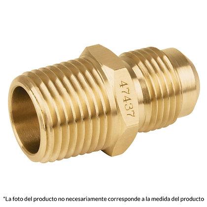 CONECTOR MACHO FLARE 3/8 X 1/4, MOD: 128F106