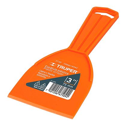 "ESPATULA PLASTICA 3"" TRUPER, MOD:14444"