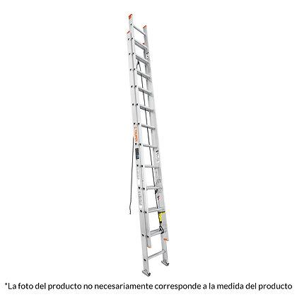 ESCALERA EXTENSION TIPO 3 16 PELDAÑOS TRUPER, MOD:16026