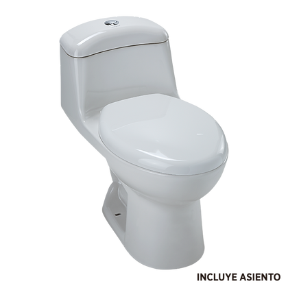 SANITARIO ONE PIECE SMART ALARGADO BLANCO MOD:DUAL FLUSH