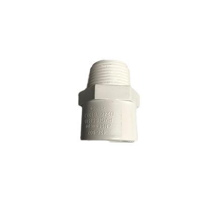 CONECTOR MACHO PVC 1