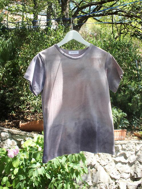 TIE DYE T-SHIRT Logwood - Natural dye