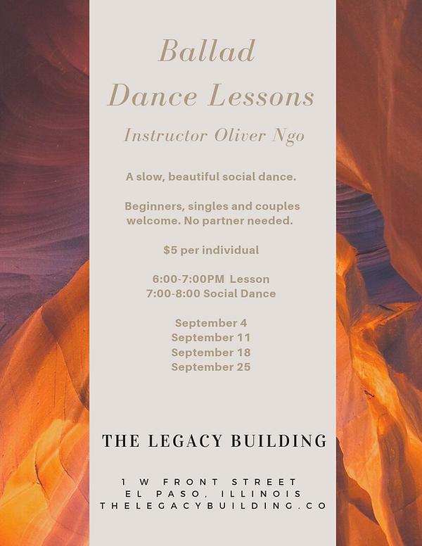 Ballad Dance Lessons _ The Legavy Buildi