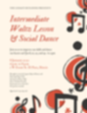 Intermediate Waltz Lesson & Social Dance
