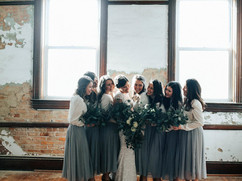Bridal Party in Legacy Opera House