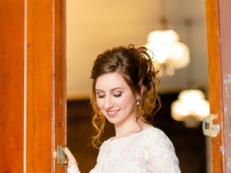 Bride in Legacy Opera House