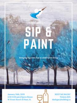 Sip & Paint Nights