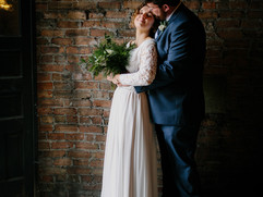 Newlyweds at Legacy Opera House