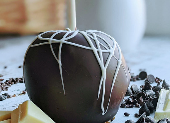 Dark Chocolate & Caramel Apple