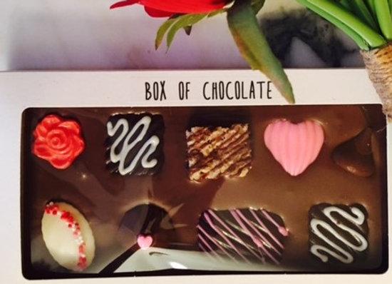 "Valentines ""Box of Chocolates"" Candy Bar"