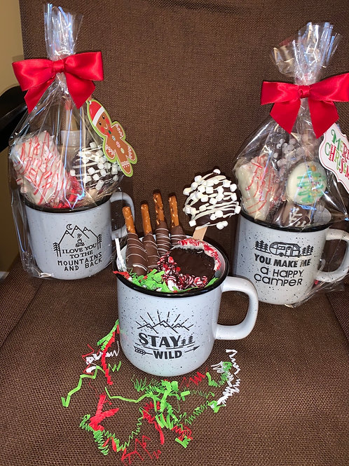 Chocolate filled Coffee Mugs