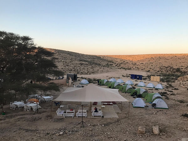 Luxury Camping Adam Sela Desert Negev