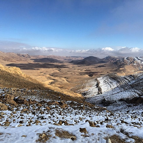 Adam Sela Tour Snow Machtesh Ramon